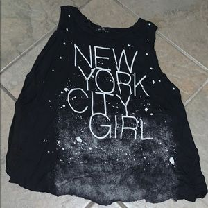 "The Classic ""New York City Girl"" tank top"